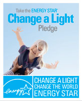 Picture: Change a light, change the world.