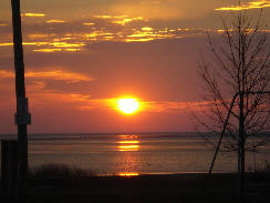 Picture: Sunrise over Lake Huron