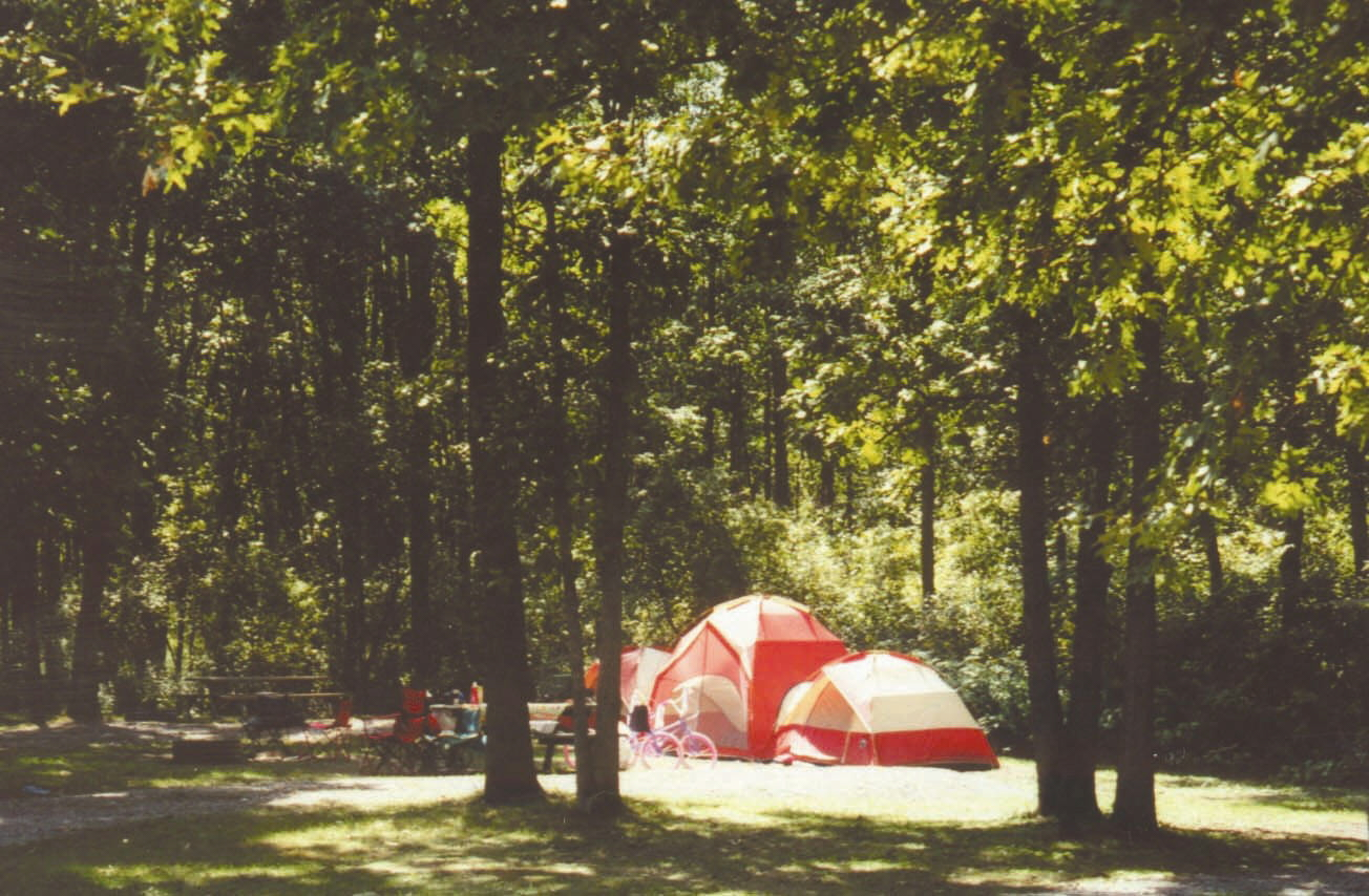 Picture: Camping at Pinconning Park